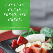 Eat Lean, Clean, Fresh, and Green